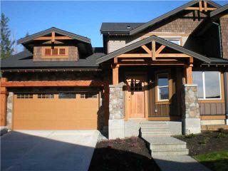 "Photo 1: 103 24185 106B Avenue in Maple Ridge: Albion Townhouse for sale in ""TRAILS EDGE"" : MLS®# V1000411"