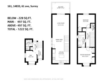"""Photo 35: 161 14833 61 Avenue in Surrey: Sullivan Station Townhouse for sale in """"Ashbury Hills"""" : MLS®# R2592954"""