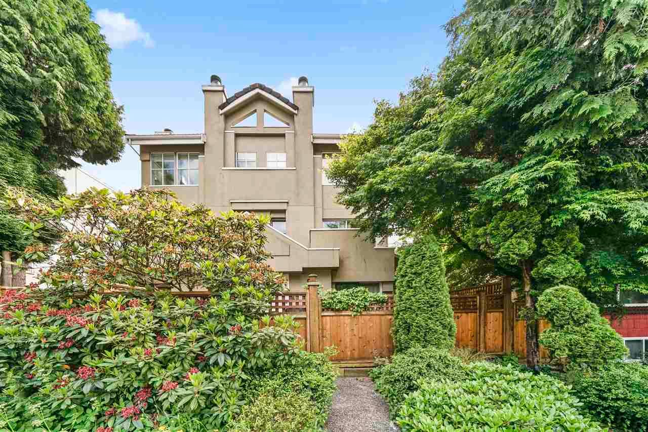 Main Photo: 2568 W 4TH Avenue in Vancouver: Kitsilano Townhouse for sale (Vancouver West)  : MLS®# R2590341