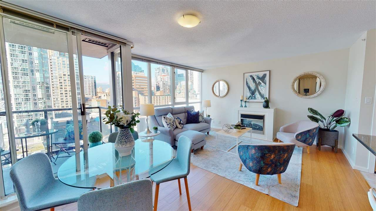 Main Photo: 1101 1199 SEYMOUR STREET in Vancouver: Downtown VW Condo for sale (Vancouver West)  : MLS®# R2538138