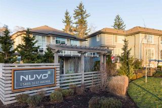 """Photo 1: 40 15405 31 Avenue in Surrey: Grandview Surrey Townhouse for sale in """"Nuvo 2"""" (South Surrey White Rock)  : MLS®# R2018076"""