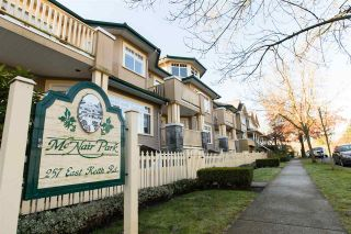 """Photo 20: 102 257 E KEITH Road in North Vancouver: Lower Lonsdale Townhouse for sale in """"McNair Park"""" : MLS®# R2333342"""