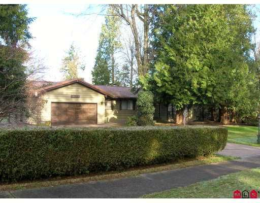 """Main Photo: 18037 20TH Ave in White Rock: Hazelmere House for sale in """"REDWOOD PARK"""" (South Surrey White Rock)  : MLS®# F2626903"""