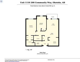 Photo 3: 1110 200 COMMUNITY Way: Okotoks Condo for sale : MLS®# C4149829