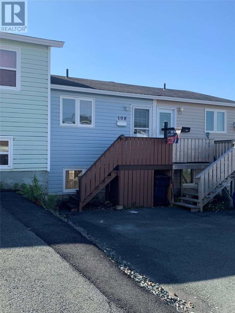 Main Photo: 108 farrell Drive in mount pearl: House for sale : MLS®# 1234335