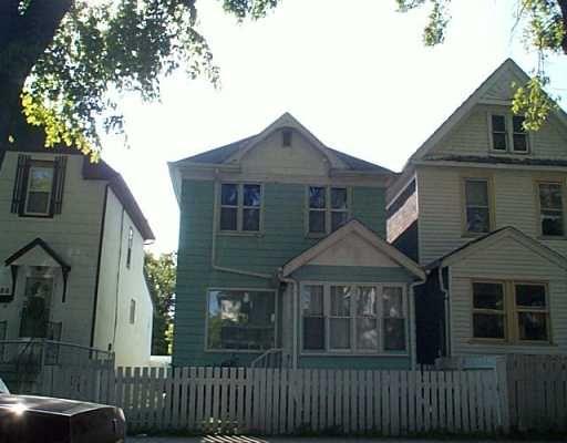 Main Photo: 684 VICTOR Street in Winnipeg: West End / Wolseley Single Family Detached for sale (West Winnipeg)  : MLS®# 2512863