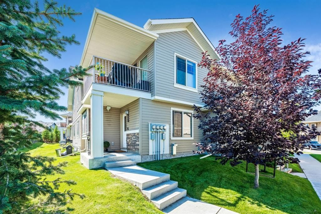 Main Photo: 605 250 Sage Valley Road in Calgary: Sage Hill Row/Townhouse for sale : MLS®# A1147689