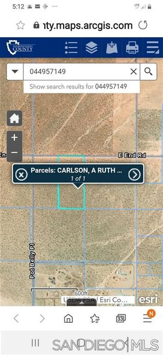Photo 10: OUT OF AREA Property for sale: 0 East End Road #49 in Lucerne Valley