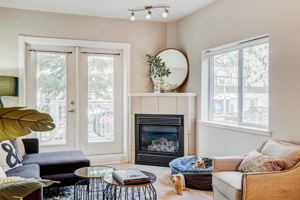Photo 3: Photos: 102 509 21 Avenue SW in Calgary: Cliff Bungalow Apartment for sale : MLS®# A1100850