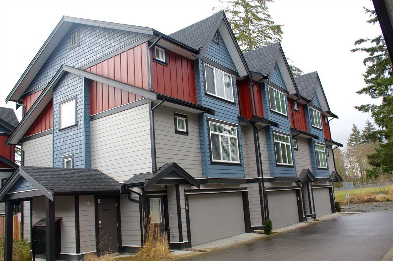 """Main Photo: 16 6929 142 Street in Surrey: East Newton Townhouse for sale in """"Redwood"""" : MLS®# R2139277"""