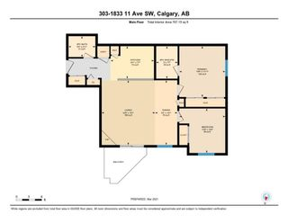 Photo 31: 303 1833 11 Avenue SW in Calgary: Sunalta Apartment for sale : MLS®# A1083577