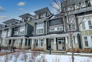 Photo 3: 191 Silverado Plains Park SW in Calgary: Silverado Row/Townhouse for sale : MLS®# A1086865