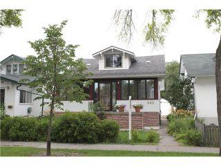 Photo 1: 445 Machray Avenue in WINNIPEG: North End Residential for sale (North West Winnipeg)  : MLS®# 1214923