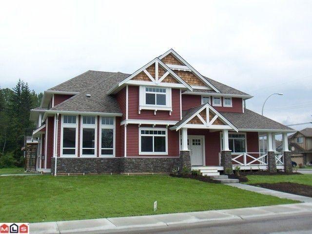 Main Photo: 32603 Egglestone Avenue in Mission: House for sale : MLS®# f1014955