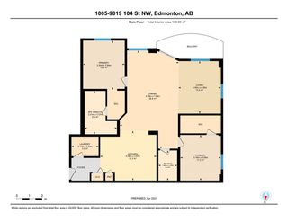 Photo 34: 1005 9819 104 Street in Edmonton: Zone 12 Condo for sale : MLS®# E4240390