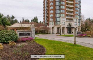 """Photo 1: 801 6837 STATION HILL Drive in Burnaby: South Slope Condo for sale in """"Claridges"""" (Burnaby South)  : MLS®# R2239068"""