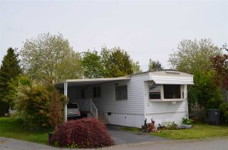 """Photo 1: 2152 CUMBRIA Drive in Surrey: King George Corridor Manufactured Home for sale in """"CRANLEY PLACE"""" (South Surrey White Rock)  : MLS®# R2165076"""
