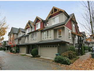 "Photo 1: 44 16789 60TH Avenue in Surrey: Cloverdale BC Townhouse for sale in ""LAREDO"" (Cloverdale)  : MLS®# F1324854"