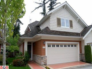 """Photo 1: 55 15055 20TH Avenue in Surrey: Sunnyside Park Surrey Townhouse for sale in """"Highgrove"""" (South Surrey White Rock)  : MLS®# F1114111"""