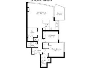 "Photo 6: 1206 120 MILROSS Avenue in Vancouver: Mount Pleasant VE Condo for sale in ""BRIGHTON"" (Vancouver East)  : MLS®# V825573"