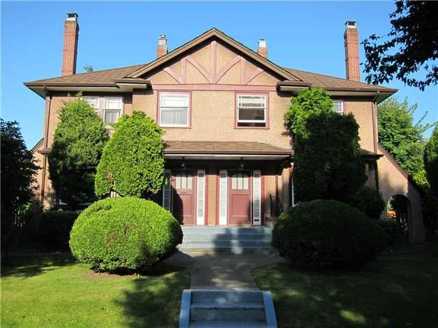 Main Photo: 1126 CYPRESS Street in Vancouver: Kitsilano Duplex for sale (Vancouver West)  : MLS®# V899646