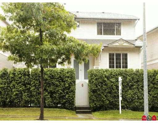 """Main Photo: 6 8675 209TH ST in Langley: Walnut Grove House for sale in """"THE SYCAMORES"""" : MLS®# F2620605"""