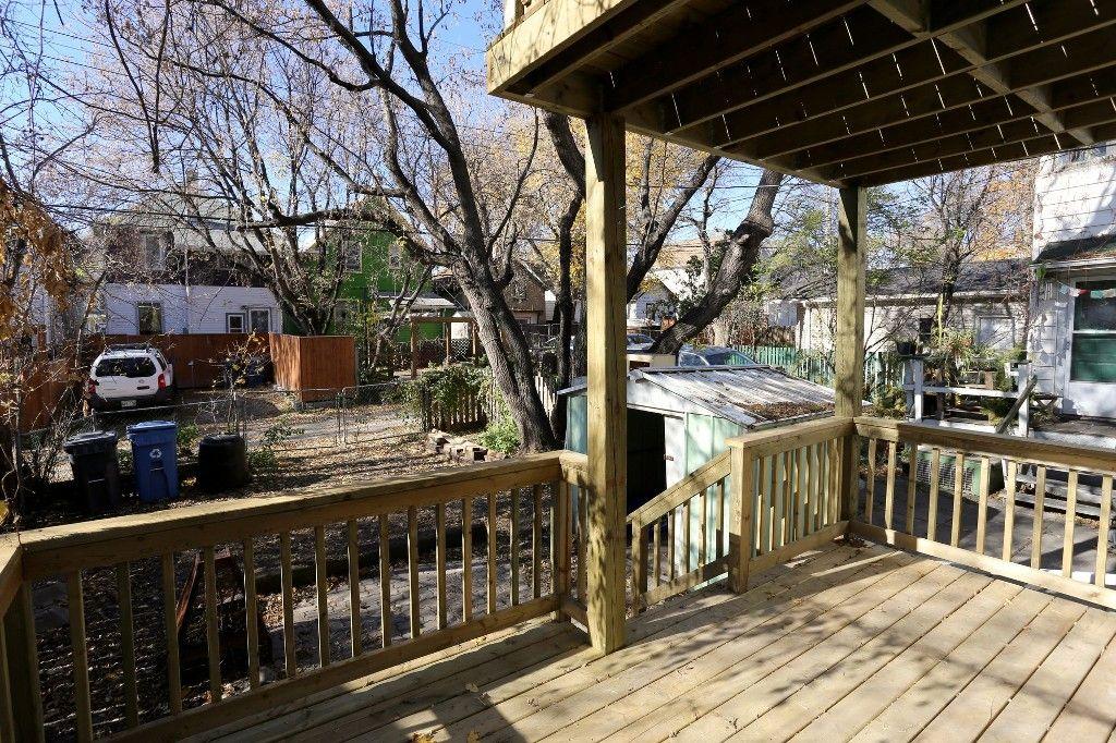 Photo 37: Photos: 496 Stiles Street in Winnipeg: Wolseley Single Family Detached for sale (West Winnipeg)  : MLS®# 1527832