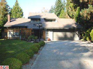 "Photo 1: 1631 AMBLE GREENE Boulevard in Surrey: Crescent Bch Ocean Pk. House for sale in ""AMBLE GREENE"" (South Surrey White Rock)  : MLS®# F1026342"
