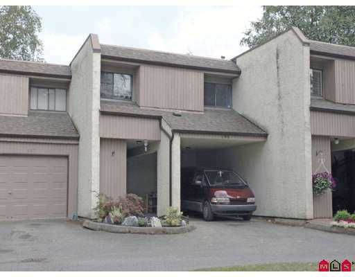 Main Photo: 135 3455 WRIGHT Street in Abbotsford: Matsqui Townhouse for sale : MLS®# F2720044