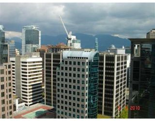 Photo 2: # 2208 610 GRANVILLE ST in Vancouver: Condo for sale : MLS®# V828403