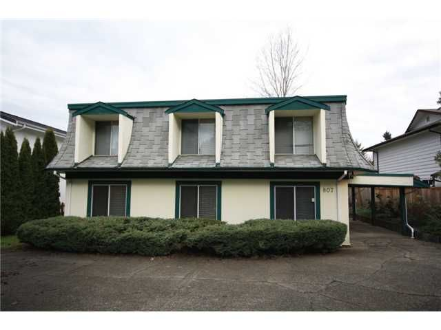 Main Photo: 807 SPRICE Avenue in Coquitlam: Coquitlam West House for sale : MLS®# V860601