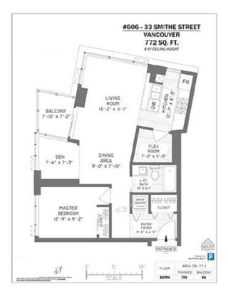 """Photo 15: 606 33 SMITHE Street in Vancouver: Yaletown Condo for sale in """"Coopers Lookout"""" (Vancouver West)  : MLS®# R2440133"""