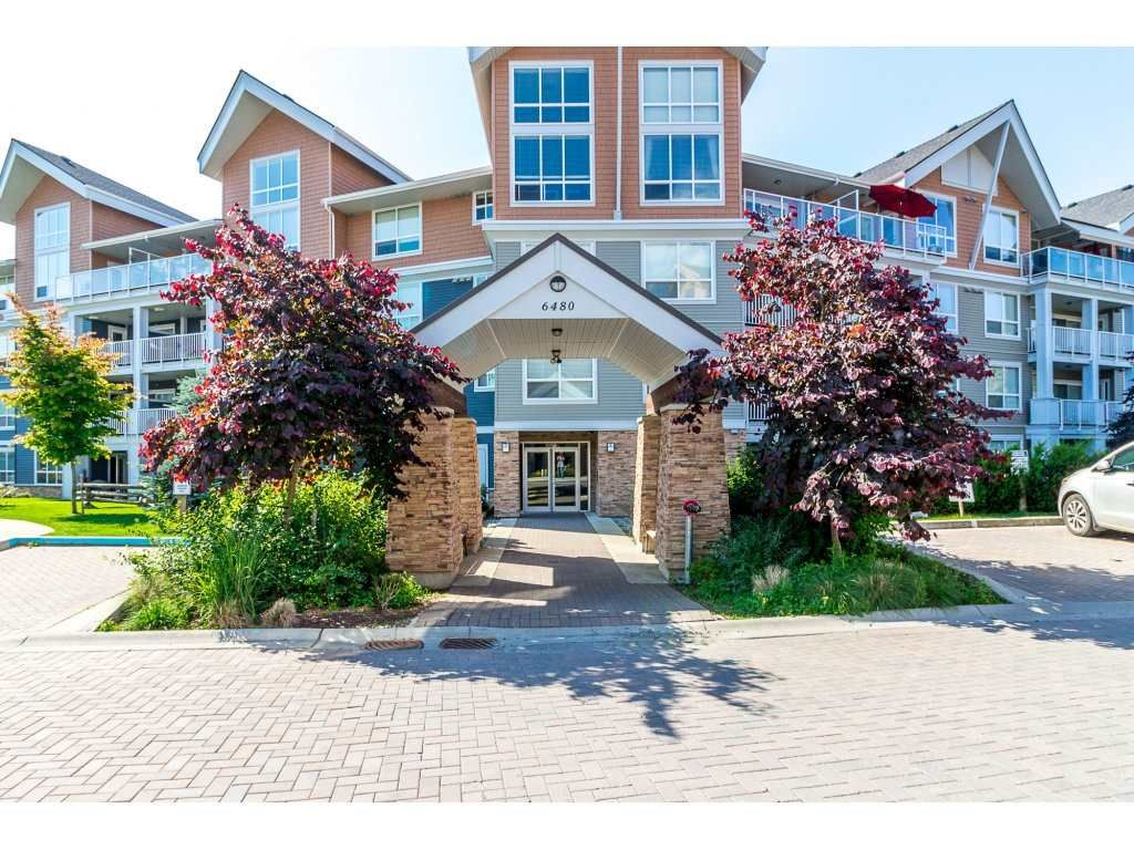 """Main Photo: 211 6480 194 Street in Surrey: Clayton Condo for sale in """"Waterstone"""" (Cloverdale)  : MLS®# R2281179"""