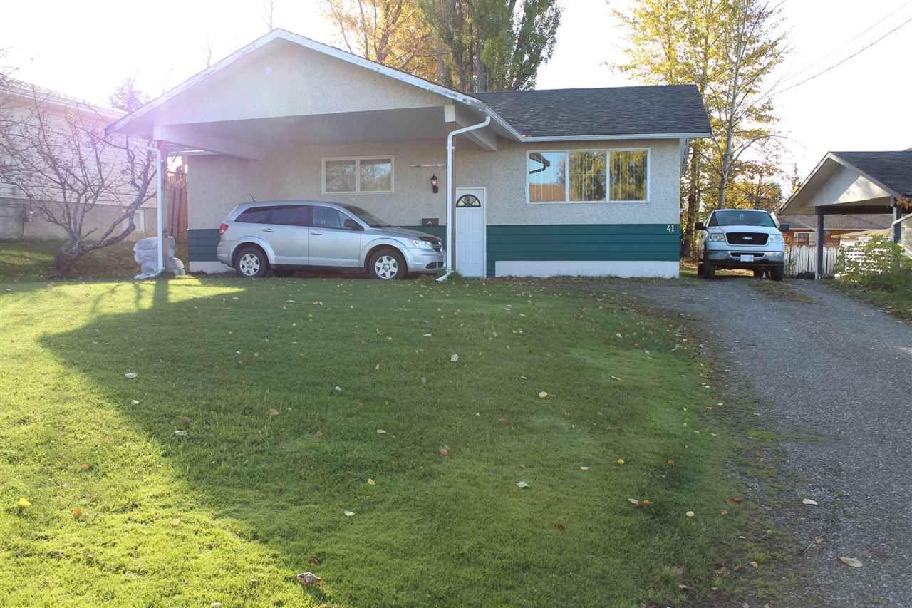 Main Photo: 41 OMINECA Crescent in Mackenzie: Mackenzie -Town House for sale (Mackenzie (Zone 69))  : MLS®# R2506480