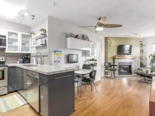 """Photo 6: 404 1562 W 5TH Avenue in Vancouver: False Creek Condo for sale in """"GRYPHON COURT"""" (Vancouver West)  : MLS®# R2211506"""
