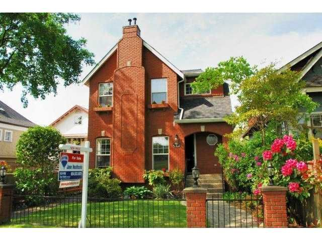 """Main Photo: 843 W 20TH Avenue in Vancouver: Cambie House for sale in """"DOUGLAS PARK"""" (Vancouver West)  : MLS®# V992622"""