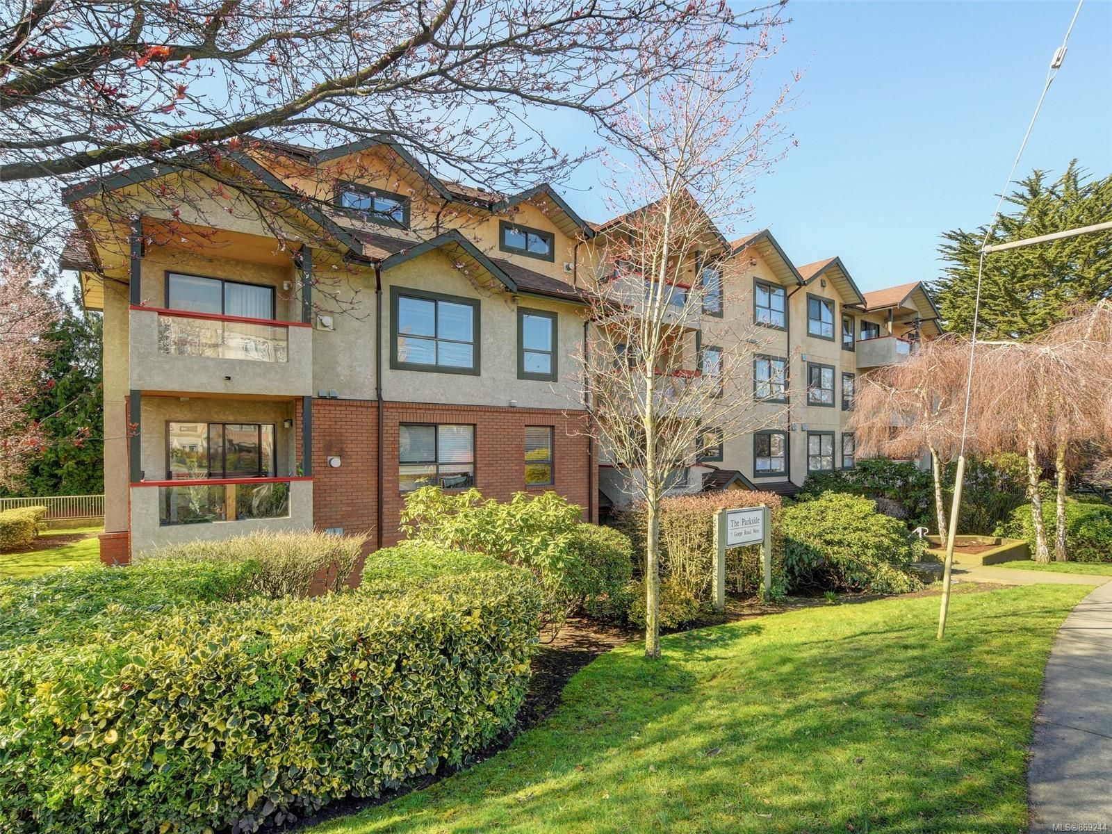 Main Photo: 201 7 W Gorge Rd in : SW Gorge Condo for sale (Saanich West)  : MLS®# 869244