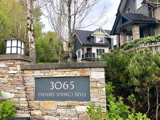 """Photo 1: 9 3065 DAYANEE SPRINGS Boulevard in Coquitlam: Westwood Plateau Townhouse for sale in """"Dayanee Spring"""" : MLS®# R2599107"""