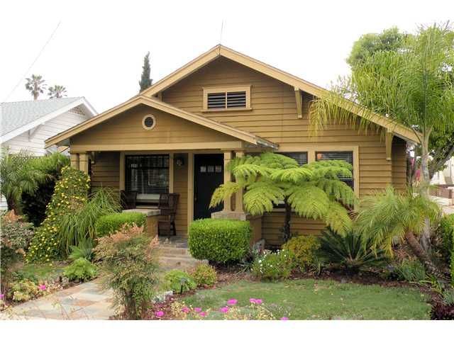 Main Photo: HILLCREST House for sale : 2 bedrooms : 3722 Richmond Street in San Diego