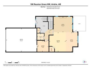 Photo 35: 106 Reunion Green NW: Airdrie Detached for sale : MLS®# A1065745