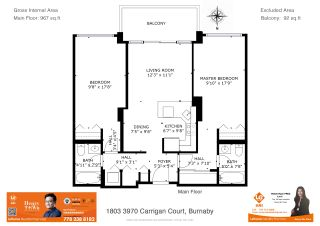 Photo 32: 1803 3970 CARRIGAN Court in Burnaby: Government Road Condo for sale (Burnaby North)  : MLS®# R2553887