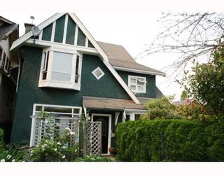 Photo 1: 3103 W 3RD Avenue in Vancouver: Kitsilano 1/2 Duplex for sale (Vancouver West)  : MLS®# V771604