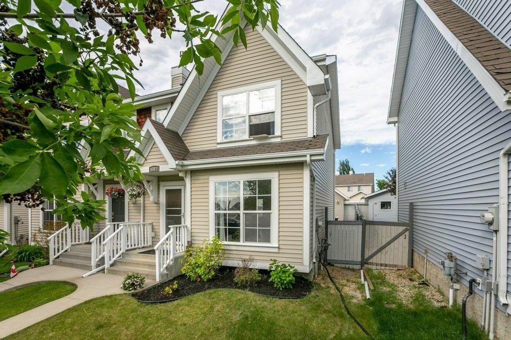 Main Photo: 5061 STANTON Drive in Edmonton: Zone 53 House Half Duplex for sale : MLS®# E4250315