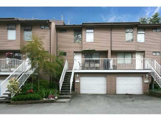 "Photo 1: 557 CARLSEN Place in Port Moody: North Shore Pt Moody Townhouse for sale in ""EAGLE POINT"" : MLS®# V835962"