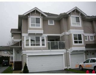 Photo 1: 25 20890 57TH Avenue in Langley: Langley City Townhouse for sale : MLS®# F2731123