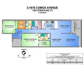 Photo 3: 2 1876 Comox Ave in : CV Comox (Town of) Condo for sale (Comox Valley)  : MLS®# 877120