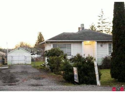 Main Photo: 19642 - 96 Ave in Langley: Langley City House for sale : MLS®# F1028521