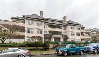 "Photo 1: 207 1618 GRANT Avenue in Port Coquitlam: Glenwood PQ Condo for sale in ""WEDGEWOOD MANOR"" : MLS®# R2359251"