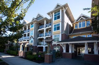 """Photo 2: 413 17712 57A Avenue in Surrey: Cloverdale BC Condo for sale in """"West on the Village Walk"""" (Cloverdale)  : MLS®# R2107869"""