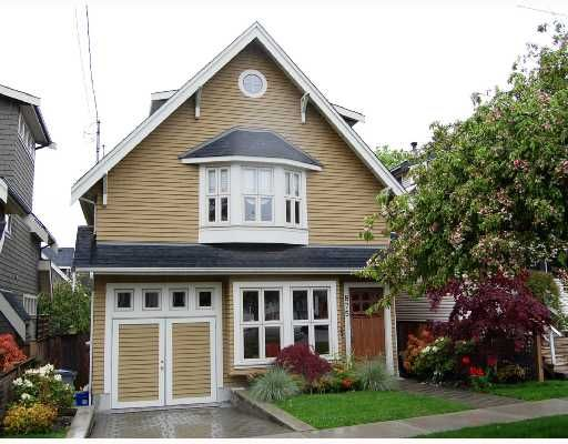 """Main Photo: 875 W 24TH Avenue in Vancouver: Cambie House for sale in """"DOUGLAS PARK"""" (Vancouver West)  : MLS®# V722900"""